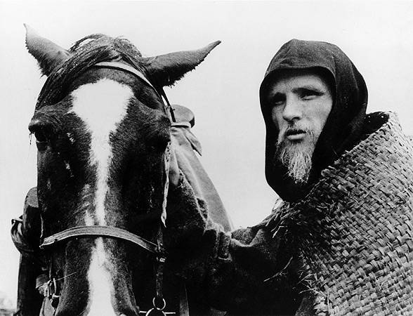 Hollow faced Anatoly Solonitsyn is Andrei Rublev