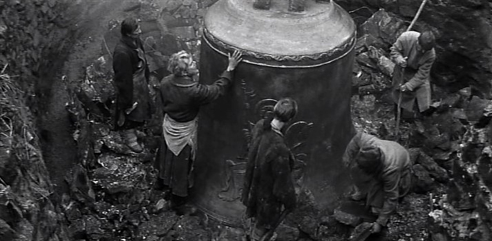 The casting of the bell is the manifestation of art and labour writ large.